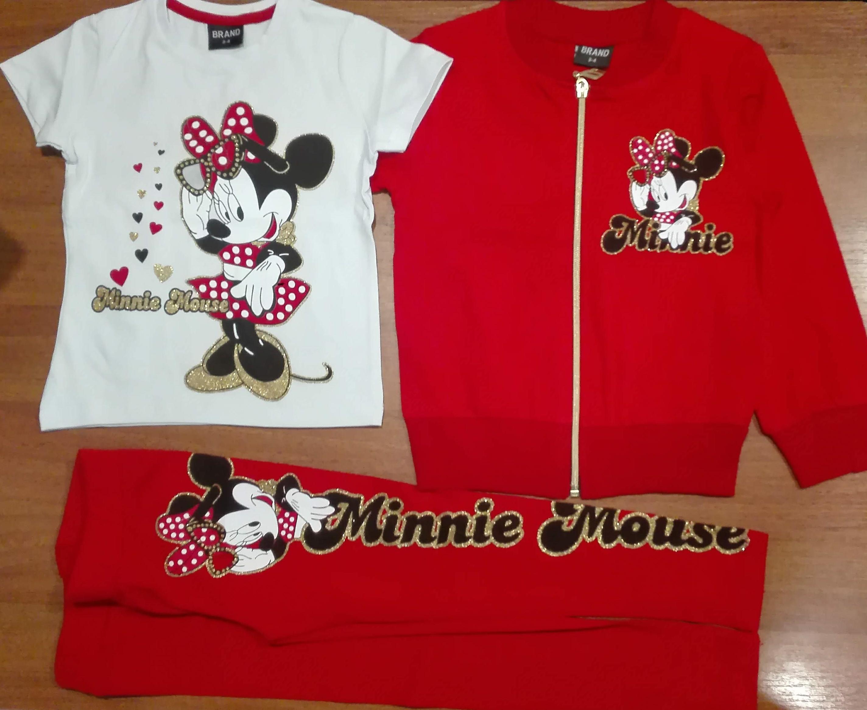 Костюм для девочек Minnie Mouse от 3-10 лет
