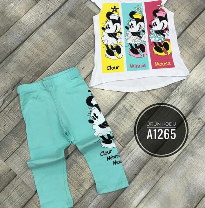 Костюм для девочек Minnie Mouse от 1-8 лет